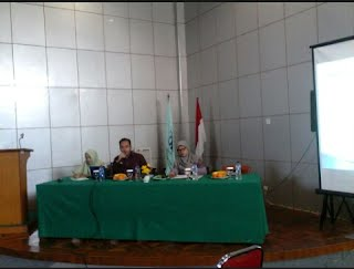 Suasana Seminar di Ruang Teater lantai 4 Fakultas Ushuluddin