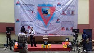 Sambutan dari GM DNK Tv dalam Opening Ceremony (26/9)